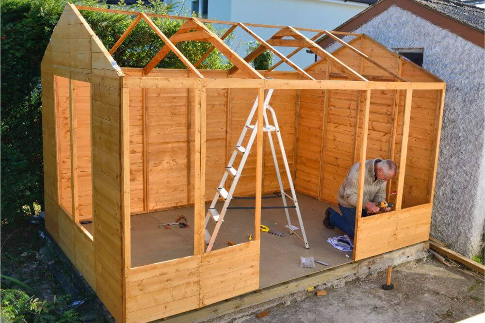 Easy To Follow Shed Roof Building Guide Plans Design