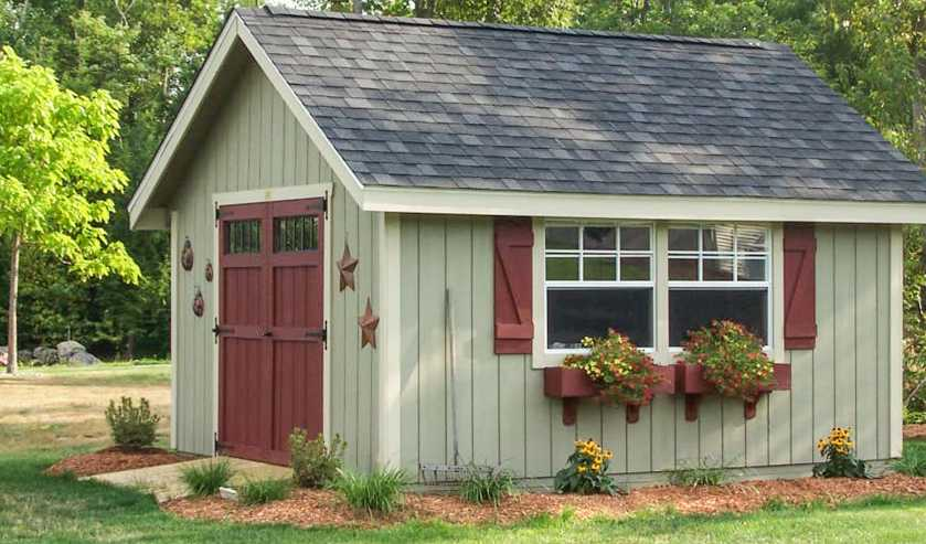 most popular shed ideas for garden