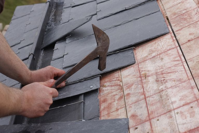 constructing a sturdy roof